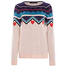 Buy Sugarhill Boutique Alpine Jumper, Cream / Multi Online at johnlewis.com