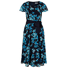 Buy Jacques Vert Star Print Prom Dress, Multi Blue Online at johnlewis.com