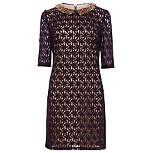 Buy Sugarhill Boutique Tilly Dress, Black/Beige Online at johnlewis.com