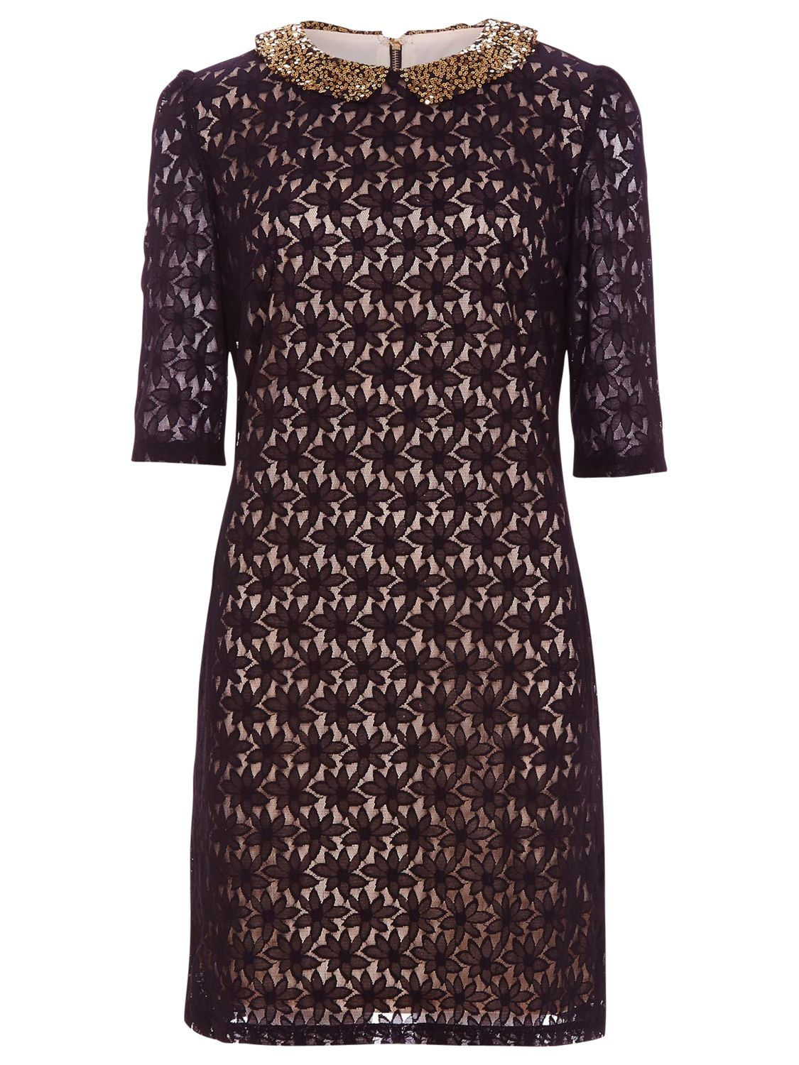 sugarhill boutique tilly dress black/beige, sugarhill, boutique, tilly, dress, black/beige, sugarhill boutique, xs|m|xl, clearance, womenswear offers, womens dresses offers, new years party offers, women, party outfits, lace dress, womens dresses, special offers, edition magazine, embellishment, 1765652