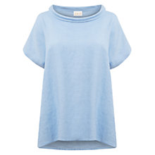 Buy East Bardot Neck Linen Top Online at johnlewis.com
