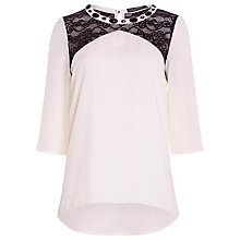 Buy Sugarhill Boutique Emmie Top, Off White Online at johnlewis.com