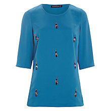 Buy Sugarhill Boutique Dahlia Top, Teal Online at johnlewis.com