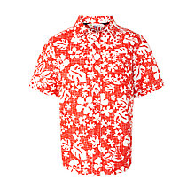 Buy John Lewis Boy Tropical Print Short Sleeve Shirt Online at johnlewis.com