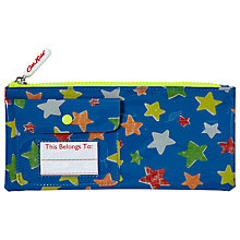 Buy Cath Kidston Children's Mini Star Print Pencil Case, Blue Online at johnlewis.com