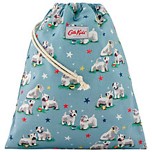 Buy Cath Kidston Children's Star Dog Drawstring Bag, Blue Online at johnlewis.com