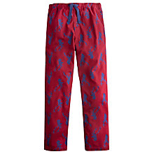 Buy Joules Stag Print Lounge Pants, Red Online at johnlewis.com
