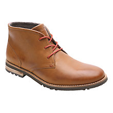 Buy Rockport Ledge Hill Two Chukka Boots, Brown Online at johnlewis.com