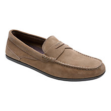 Buy Rockport Cape Noble Three Washable Penny Loafers Online at johnlewis.com
