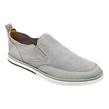 Buy Rockport Weekend Style Slip-On Shoes, Grey Online at johnlewis.com