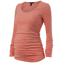 Buy Isabella Oliver Scoop Long Sleeve Maternity Top Online at johnlewis.com