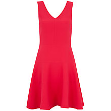 Buy Closet V Cut Out Band Dress, Pink Online at johnlewis.com