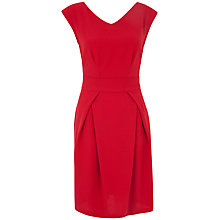 Buy Closet V-Neck Tie Back Dress, Red Online at johnlewis.com