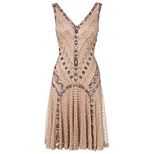Buy Phase Eight Gatsby Beaded Dress, Antique Online at johnlewis.com