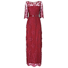 Buy Phase Eight Collection 8 Selena Lace Dress, Raspberry Online at johnlewis.com