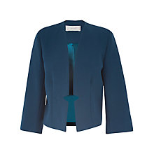 Buy Almari Notch Tab Back Jacket, Teal Online at johnlewis.com