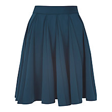 Buy Almari Full Godet Skirt, Teal Online at johnlewis.com