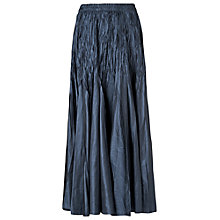 Buy Phase Eight Pleated Maxi Skirt, Midnight Online at johnlewis.com