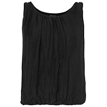 Buy Phase Eight Lua Sleeveless Silk Blouse, Black Online at johnlewis.com