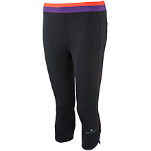 Buy Ronhill Aspiration Finesse Capri Pants, Black Online at johnlewis.com