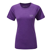 Buy Ronhill Aspiration Motion T-Shirt, Purple Online at johnlewis.com