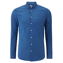 Buy Kin by John Lewis Nieves Dot Print Woven Shirt, Royal Blue Online at johnlewis.com