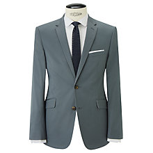 Buy Kin by John Lewis Prior Slim Fit Blazer, Steel Blue Online at johnlewis.com