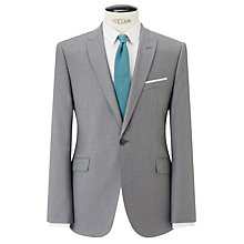 Buy Kin by John Lewis Newick Flannel Slim Fit Suit Jacket, Light Grey Online at johnlewis.com