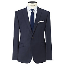 Buy Kin by John Lewis Dover Fine Pindot Slim Fit Suit Jacket, Airforce Blue Online at johnlewis.com