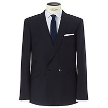 Buy Kin by John Lewis Amos Hopsack Suit Jacket, Navy Online at johnlewis.com