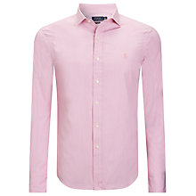 Buy Polo Ralph Lauren Slim Estate Shirt, Pink Online at johnlewis.com