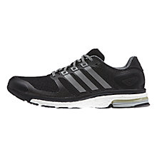 Buy Adidas Adistar Boost Glow Men's Running Shoes, Core Black Online at johnlewis.com