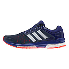 Buy Adidas Revenege Boost 2 Men's Running Trainers, Collegiate Navy Online at johnlewis.com