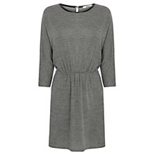 Buy Oasis Marl Tunic Dress, Mid Grey Online at johnlewis.com