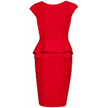 Buy Ted Baker Double Layered Dress, Red Online at johnlewis.com