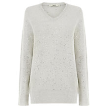 Buy Oasis The Nicole Sequin Knit Jumper Online at johnlewis.com