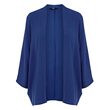 Buy Oasis Plain Kimono Jacket, Rich Blue Online at johnlewis.com