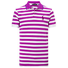 Buy Polo Golf by Ralph Lauren Pro-Fit Stripe Polo Top Online at johnlewis.com