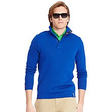 Buy Polo Golf by Ralph Lauren RLX Half Zip Thermocool, Sapphire Star Online at johnlewis.com