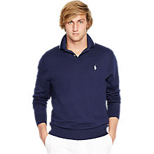 Buy Polo Golf by Ralph Lauren V-Neck Jumper, French Navy Online at johnlewis.com
