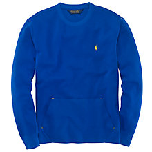 Buy Polo Golf by Ralph Lauren Crew Neck Performance Fleece Online at johnlewis.com