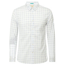 Buy Scotch & Soda Grind Check Shirt, White/Blue Online at johnlewis.com