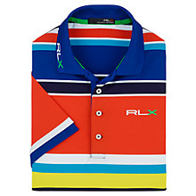 Buy Polo Golf by Ralph Lauren RLX Stripe Polo Shirt Online at johnlewis.com