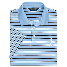 Buy Polo Golf by Ralph Lauren Performance Lyle Stripe Polo Shirt Online at johnlewis.com