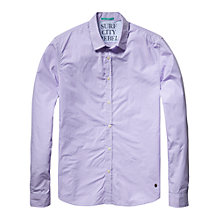 Buy Scotch & Soda Crisp Dress Shirt, Purple Online at johnlewis.com
