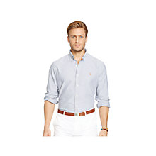 Buy Polo Ralph Lauren Custom Fit Oxford Shirt Online at johnlewis.com