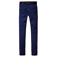 Buy Scotch & Soda Belted Chinos Online at johnlewis.com