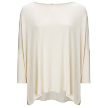 Buy Somerset by Alice Temperley Oversized Top, Cream Online at johnlewis.com