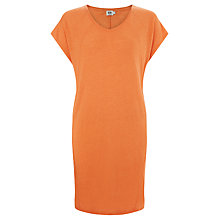 Buy Kin by John Lewis Overlock Linen Dress, Bird of Paradise Online at johnlewis.com