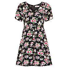 Buy Louche Dellana Floral Dress, Multi Online at johnlewis.com